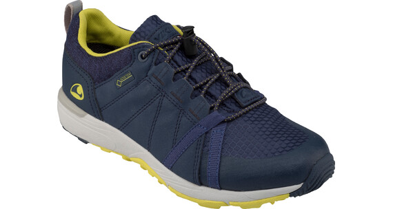 Viking Stockholm GTX Shoes Junior Navy/Lime